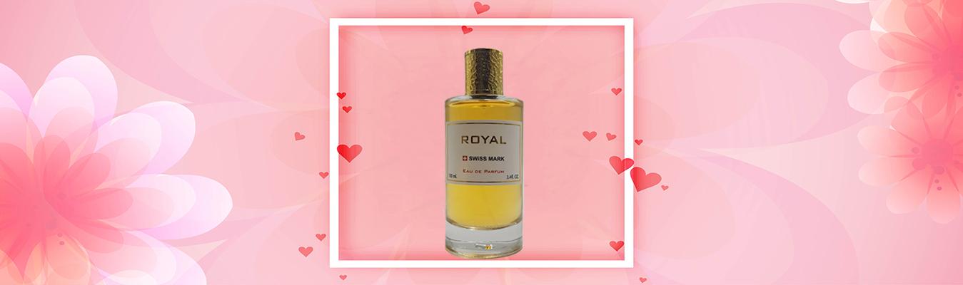 ادوپرفیوم زنانه ROYAL، عطری خوشبو از برند سوئیس مارک
