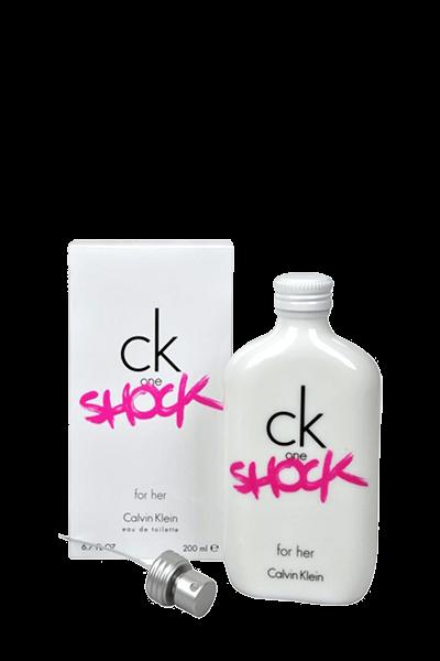 ادو تویلت زنانه کالوین کلین مدل One Shock For Her حجم 200 میلیلیتر