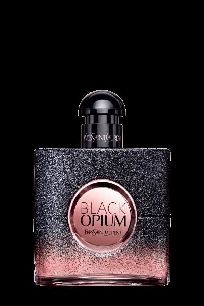 ادو پرفیوم زنانه ایو سن لورن مدل Black Opium Floral Shock حجم 50 ميلیلیتر