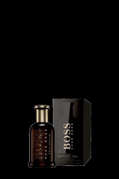 ادوپرفیوم مردانه هوگو باس مدل Boss Bottled Oud حجم 100 میل
