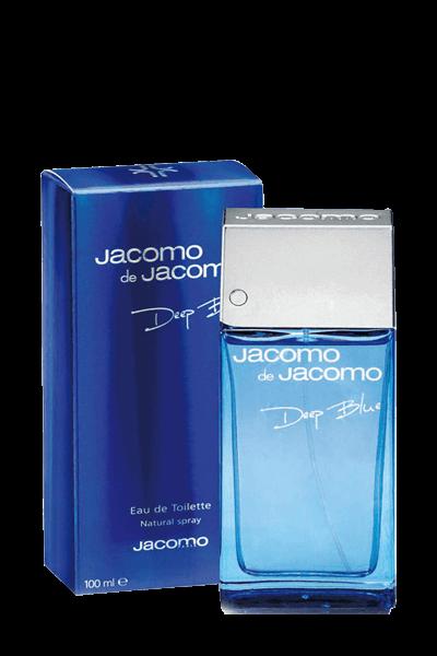 ادوتویلت مردانه جاکومو مدل DEEP BLUE حجم 100میل