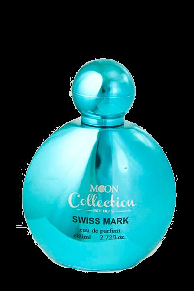 ادو پرفیوم زنانه و مردانه سوییس مارک MOON COLLECTION SKY BLUE حجم 80میل