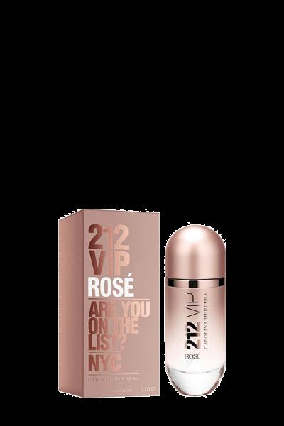 ادو پرفيوم زنانه کارولينا هررا مدل 212VIP Rose حجم 125 ميل