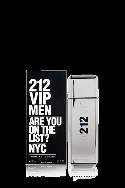ادکلن مردانه کارولینا هررا مدل 212 VIP Men حجم 50 ميلیلیتر